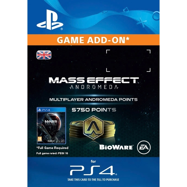 5750 Mass Effect: Andromeda Points Digital Download
