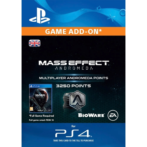 3250 Mass Effect: Andromeda Points Digital Download