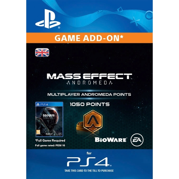 1050 Mass Effect: Andromeda Points Digital Download