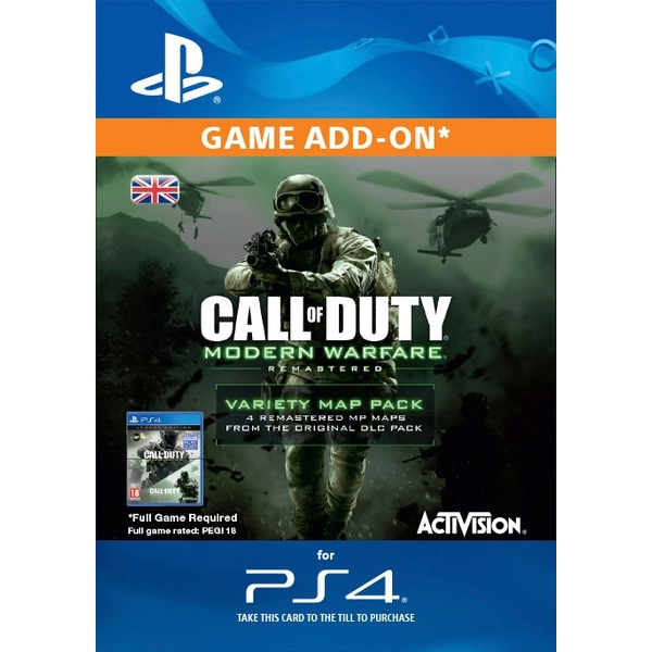 Call of Duty: MWR Variety Map Pack Digital Download
