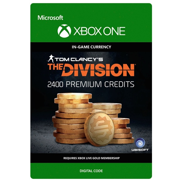 Tom Clancy's The Division: Currency Pack 2400 Credits Digital Download