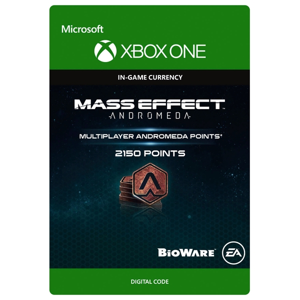 2150 Mass Effect: Andromeda Points Digital Download