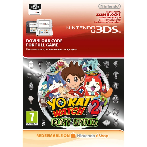 Yo-Kai Watch 2: Bony Spirits 3DS Digital Download