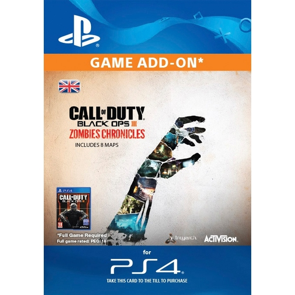 Call of Duty: Black Ops III: Zombies Chronicles Digital Download