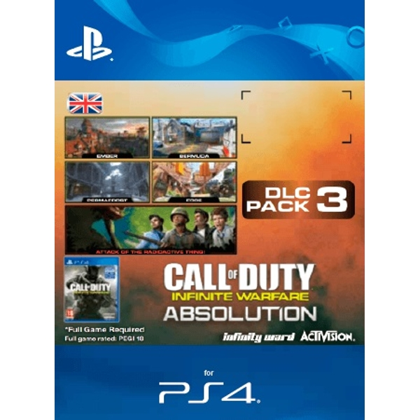 Call of Duty: Infinite Warfare DLC 3 Absolution UK