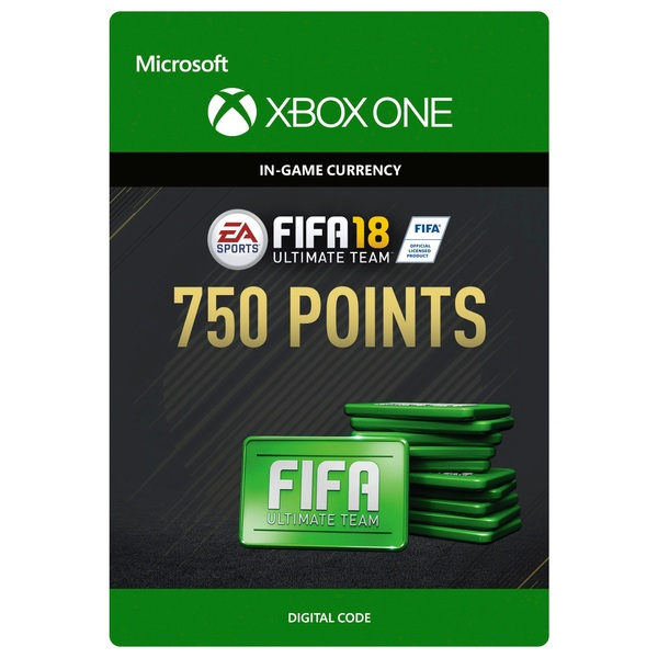 Fifa 18 750 Ultimate Team Points Digital Download