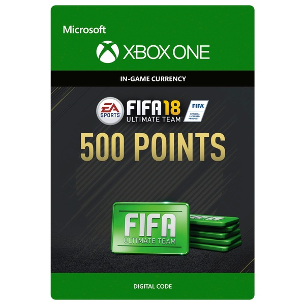 Fifa 18 500 Ultimate Team Points Digital Download