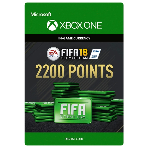 Fifa 18 2200 Ultimate Team Points Digital Download