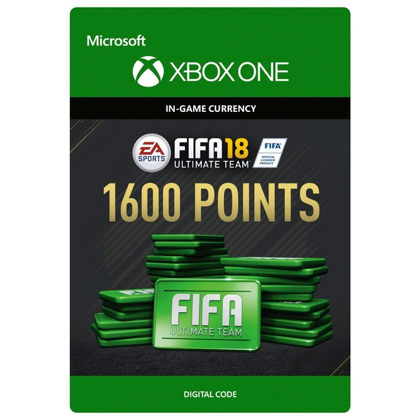 Fifa 18 1600 Ultimate Team Points Digital Download