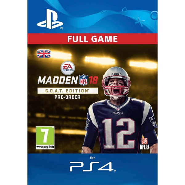 Madden NFL 18 G.O.A.T. Edition Digital Download