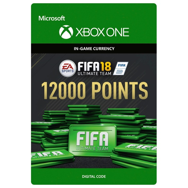 Fifa 18 12000 Ultimate Team Points Digital Download