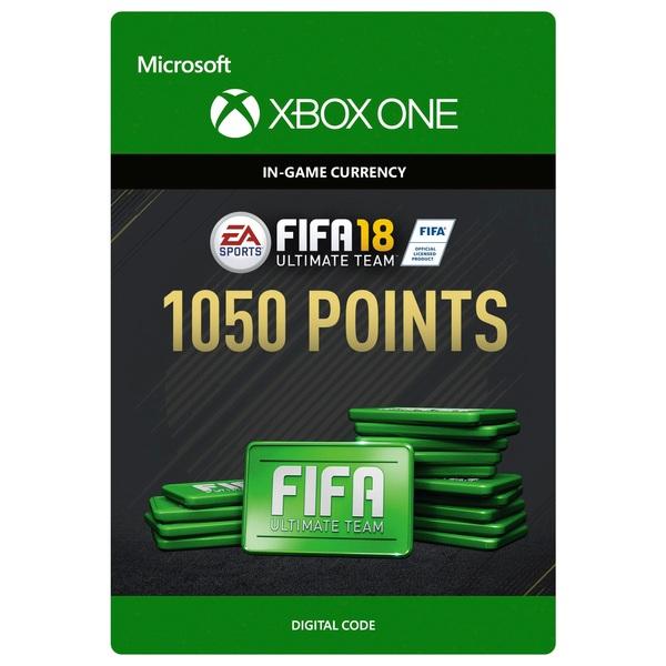 Fifa 18 1050 Ultimate Team Points Digital Download