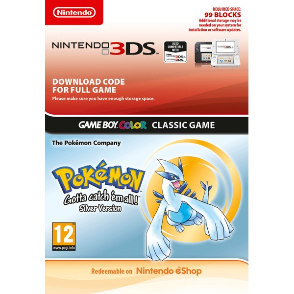 Pokémon Silver 3DS Digital Download