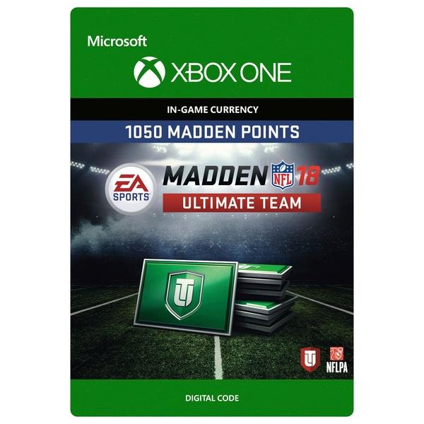 1050 Madden NFL 18 Ultimate Team Points XB1 Digital Download