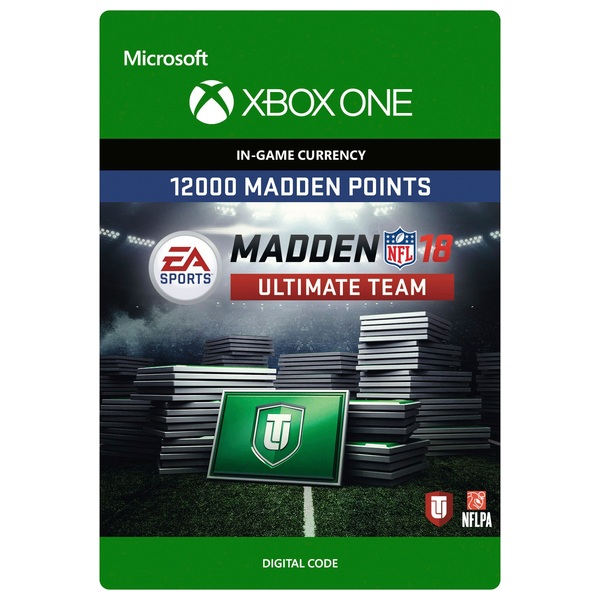 12000 Madden NFL 18 Ultimate Team Points XB1 Digital Download