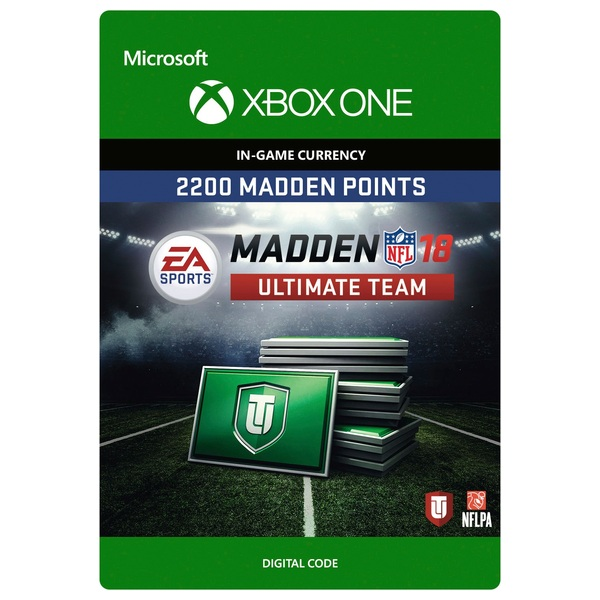 2200 Madden NFL 18 Ultimate Team Points XB1 Digital Download