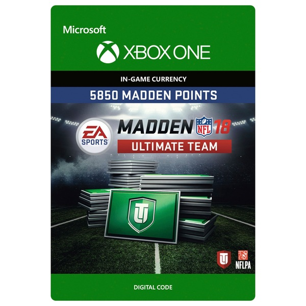 5850 Madden NFL 18 Ultimate Team Points XB1 Digital Download