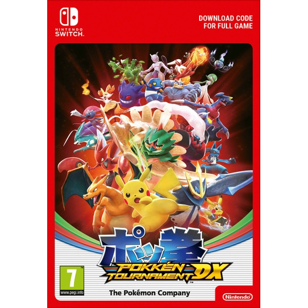 Pokken Tournament DX Switch Digital Download