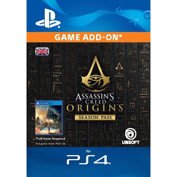 Assassin's Creed Origins Season Pass Digital Download GB