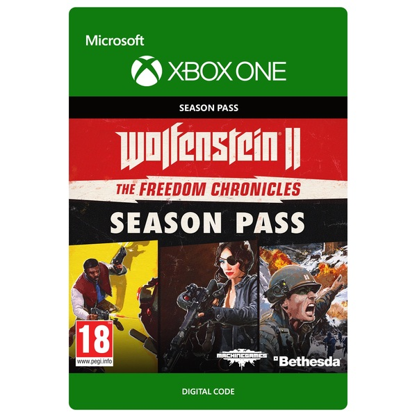 Wolfenstein II: Season Pass Xbox One Digital Download