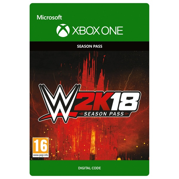 WWE 2K18: Season Pass Xbox One Digital Download