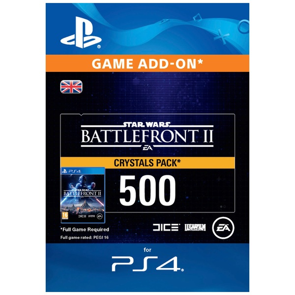 Star Wars Battlefront™ II: 500 Crystals Digital Download