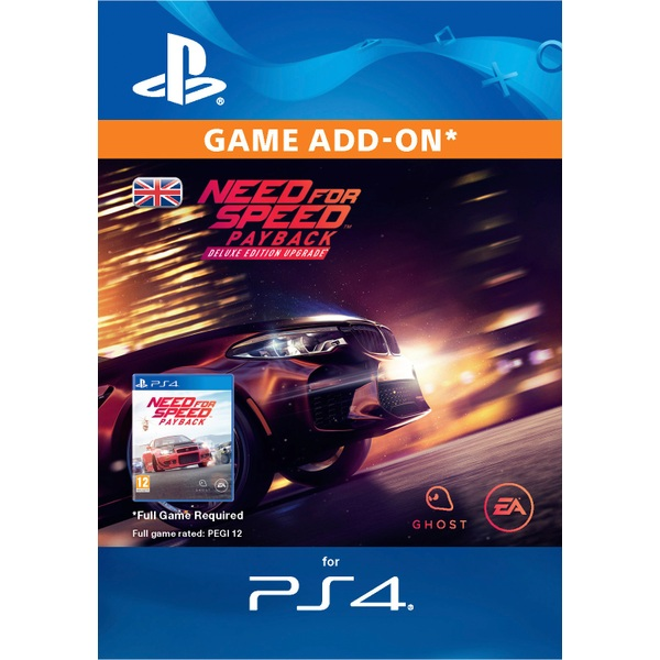 need for speed payback deluxe edition upgrade ps4 digital. Black Bedroom Furniture Sets. Home Design Ideas