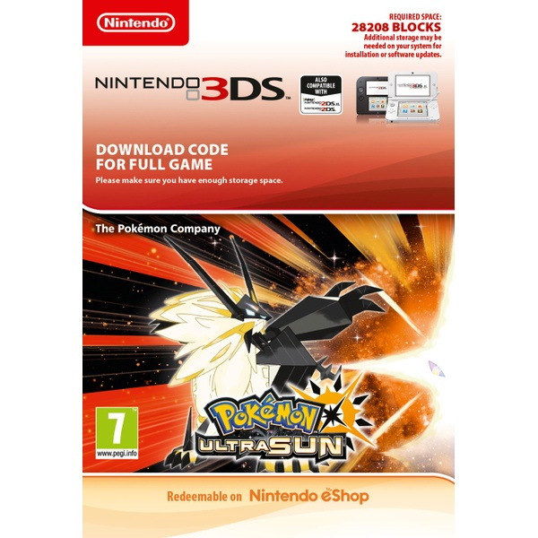 Pokémon Ultra Sun Nintendo 3DS Digital Download