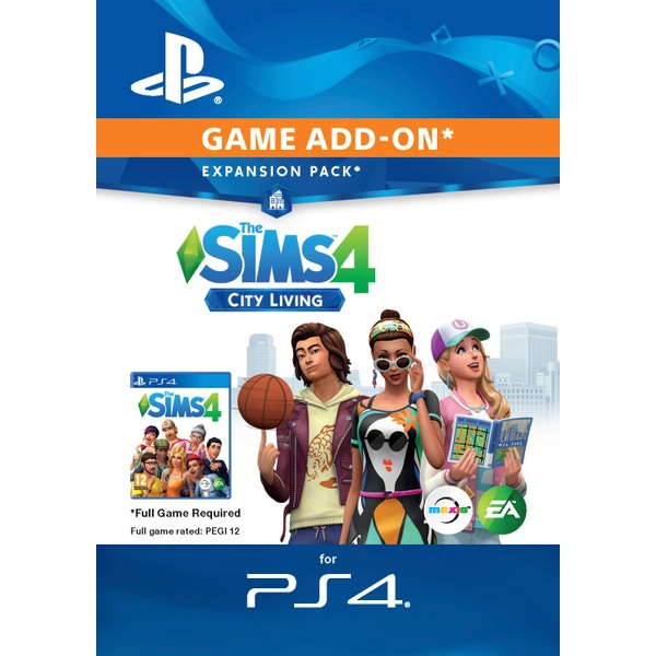 The Sims 4: City Living Add-On PS4 Digital Download