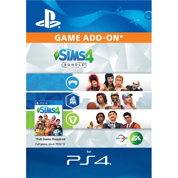 The Sims 4 Add-on Bundle PS4 Digital Download