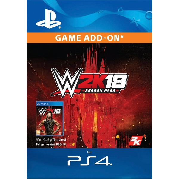 WWE 2K18: Season Pass PS4 Digital Download