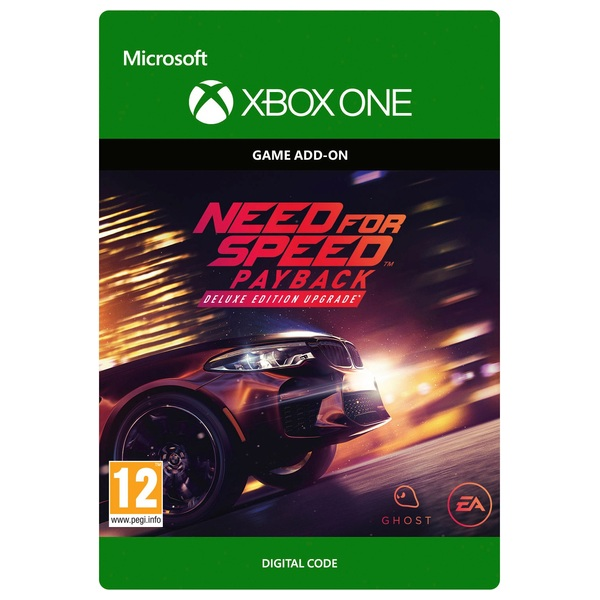 Need For Speed Payback Deluxe Edition Upgrade Xbox One Digital Download