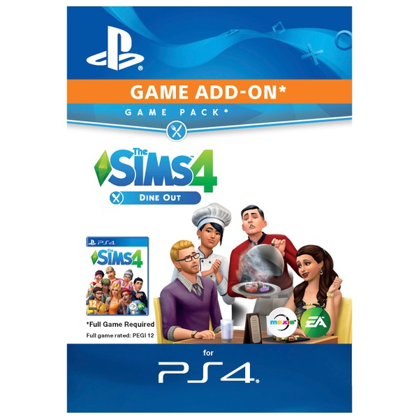 The Sims 4 Dine Out PS4 Digital Download