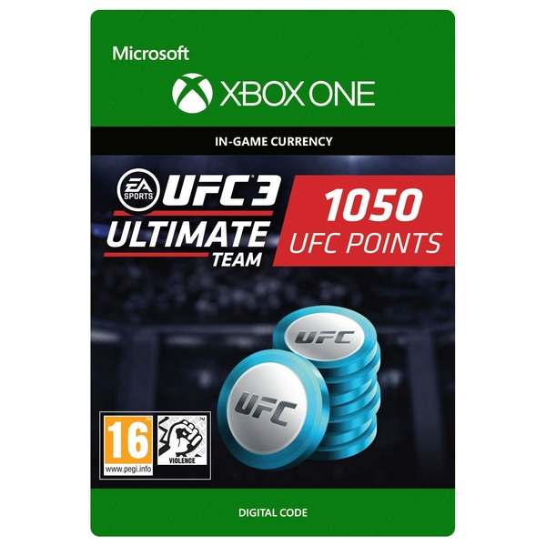 UFC 3: 1050 UFC Points Xbox One Digital Download