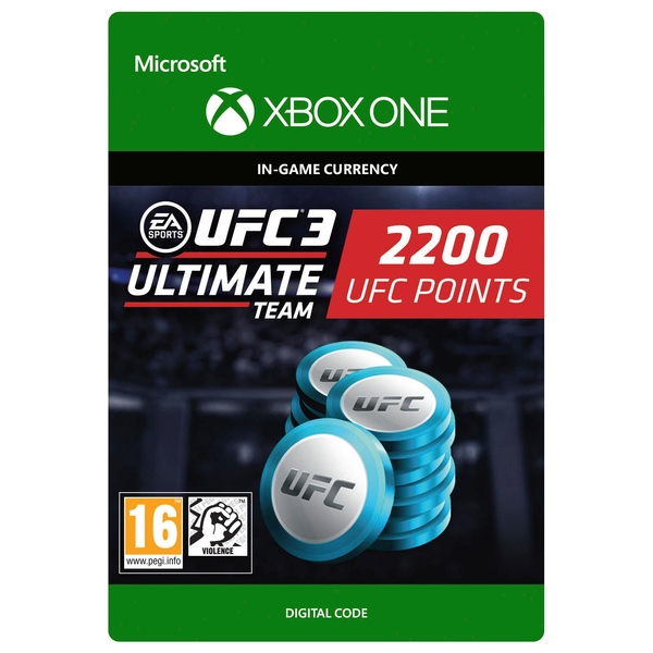 UFC 3: 2200 UFC Points Xbox One Digital Download