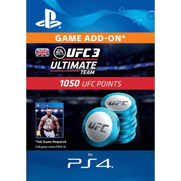 UFC 3 - 1050 UFC Points (PS4 Digital Download)