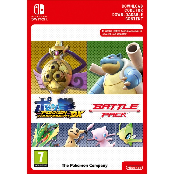 Pokken Tournament DX Battle Pack Nintendo Switch