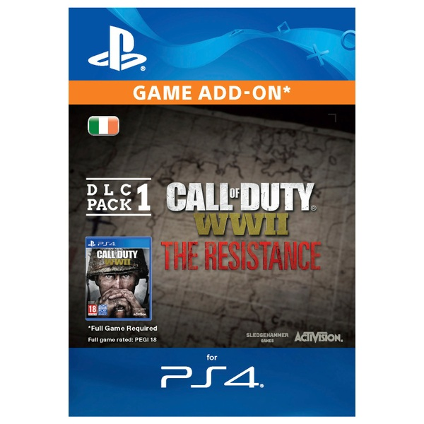 Call of Duty: WWII - The Resistance DLC Pack 1 (PS4 Digital Download)