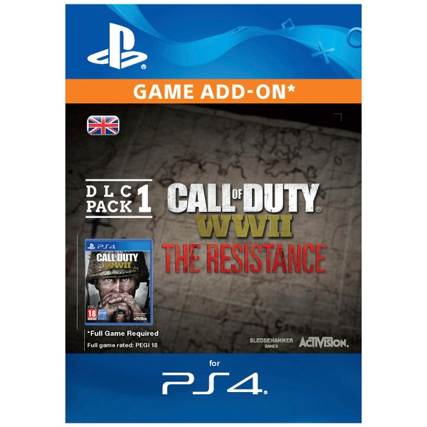 Call of Duty: WWII - The Resistance: DLC PACK 1 (PS4 Digital Download)