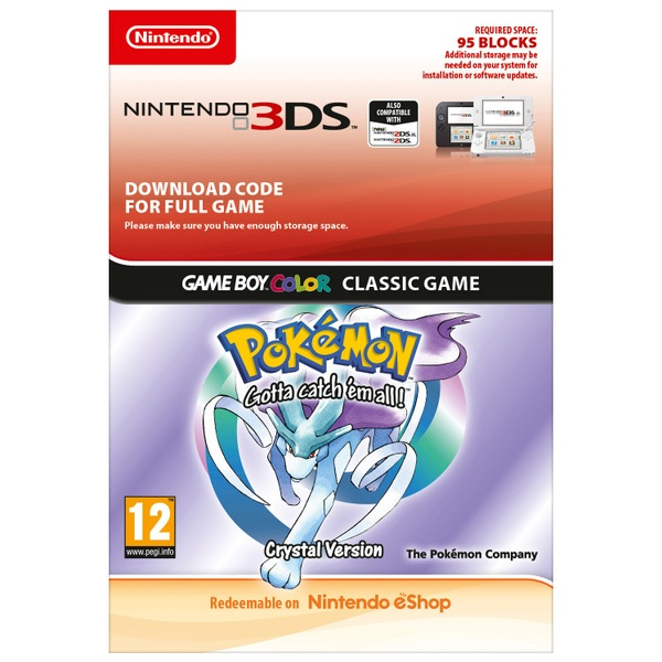 Pokémon Crystal 3DS (Digital Download)