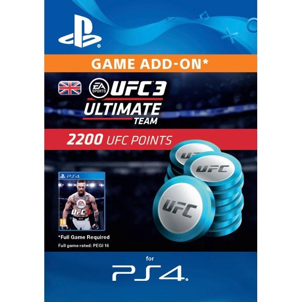 UFC 3 - 2200 UFC POINTS