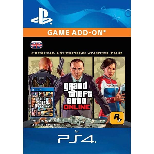 GTA Online: Criminal Enterprise Starter Pack (PS4 Digital Download)