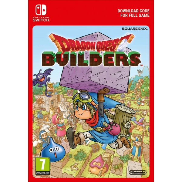Dragon Quest Builders Nintendo Switch Digital Download