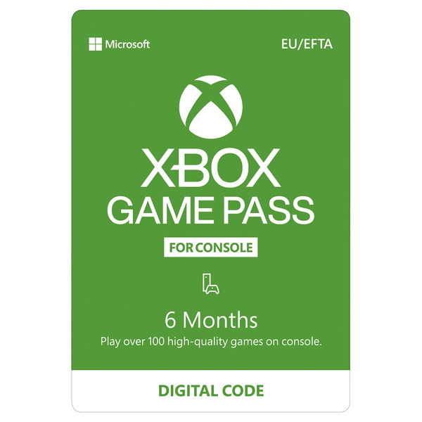 Xbox 6 Months Game Pass
