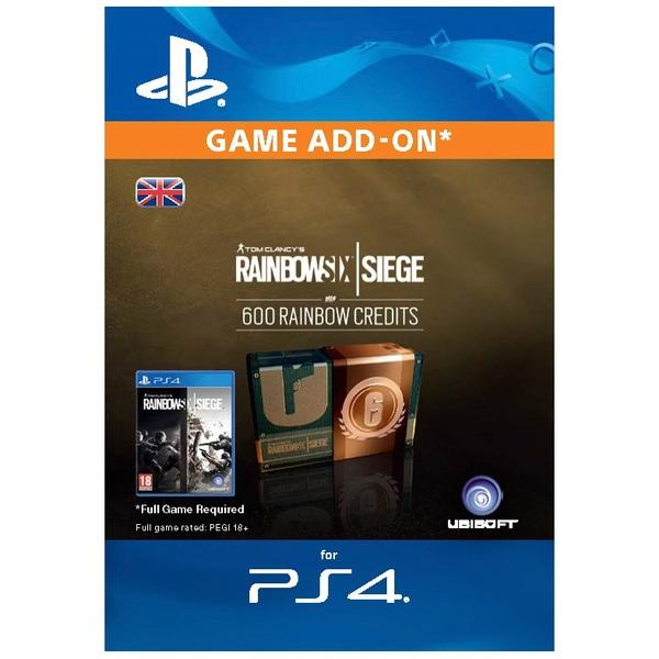 Rainbow Six Siege Digital Currency - 600 credits PS4 (Digital Download)
