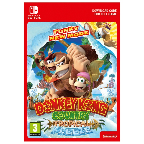 Donkey Kong Country: Tropical Freeze (Digital Download)