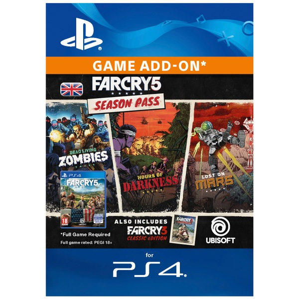 Far Cry 5 Season Pass PS4 (Digital Download)