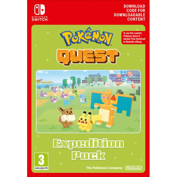 Pokémon Quest Expedition Pack Nintendo Switch Digital Download
