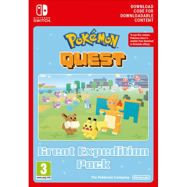 Pokémon Quest Great Expedition Pack Nintendo Switch Digital Download