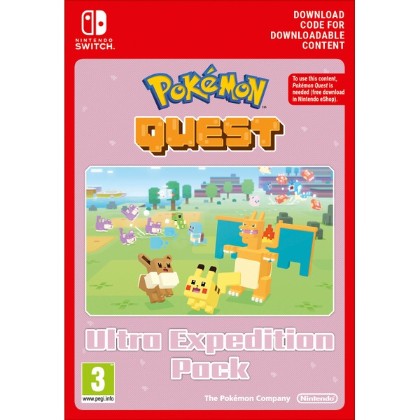 Pokémon Quest Ultra Expedition Pack Nintendo Switch Digital Download